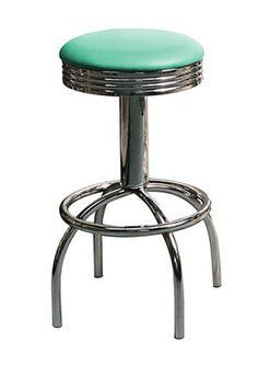 tr30 retro fifties kitchen breakfast bar stool