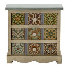 FREE SHIPPING! Shop Wayfair for Woodland Imports 3 Drawer Gorgeous Canvas Table Chest - Great Deals on all Furniture products with the best selection to choose from!