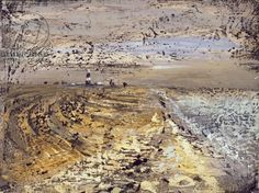 """""""Dungeness"""" by John Piper, 1947 (oil on masonite)"""