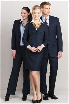 front desk or reception uniforms: www.uniformsolutionsforyou.com
