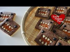 Domo-kun Jam Cookies どーもくんジャムクッキー - YouTube