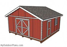 Pergola At Home Depot Info: 1515578838 10x12 Shed Plans, Wood Shed Plans, Free Shed Plans, Shed Building Plans, Barn Plans, Garage Plans, Garden Storage Shed, Storage Shed Plans, Garden Sheds