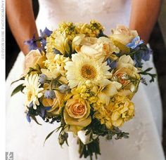 I love the antique, vintage feel of the bouquet, but would this look okay with the brown dresses?
