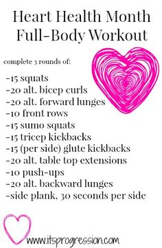 Heart Health Month Full-Body Workout