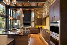 Stunning 66 Best Sleek Contemporary Kitchen Designs Inspiration https://decorapatio.com/2017/05/31/66-best-sleek-contemporary-kitchen-designs-inspiration/