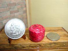 Dollhouse Miniature 1:12 Cookware & Tableware Canister Handcrafted OOAK #I12 #HandcraftedMiniaturesbyOppi