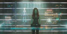 Gamora - A mulher mais mortal da galáxia - HeróIs Espaciais Para Uma Nova GeraçãO