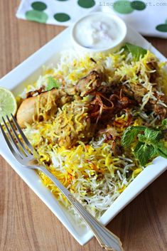 Lucknowi Chicken Biryani
