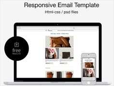 This particular Email template is a Free PSD/HTML Responsive Email Template. It is designed by Marco Lopes and has been tested on Litmus and iPhone. You can customise this newsletter as per your needs and it has PSDs, CSS and Open source HTML.
