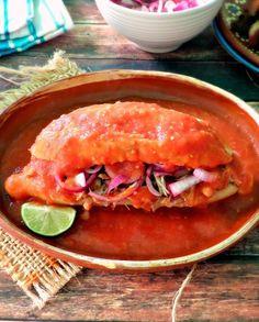Torta Ahogada (Sloppy Carnitas Sandwich)