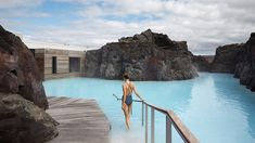 Blue Lagoon Retreat Hotel and Spa by Basalt Architects and Design Group Italia. In Grindavík, Iceland, the Blue Lagoon's geothermal water surrounds the hotel, including suites with private entrances to the water. Blue Lagoon Hotel, Blue Lagoon Resort, Sands Hotel, Water Element, Win A Trip, Five Star Hotel, Turquoise Water, Ibiza, Thing 1