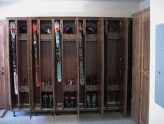 Boot Dryer, Ski Store, Ski Lodge Decor, Ski Rack, Log Cabin Living, Custom Boots, Ski Chalet, Entry Hall, Steel Wall