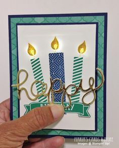 Light Up Birthday Candle Card Made With Chibitronics Lights