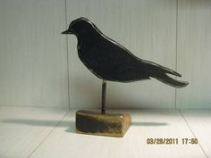 Black crow CAW CAW by Woodsoffoster on Etsy, $18.00