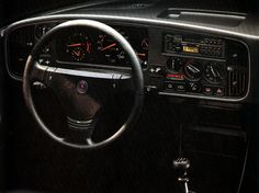 saab 900T dash - Google Search