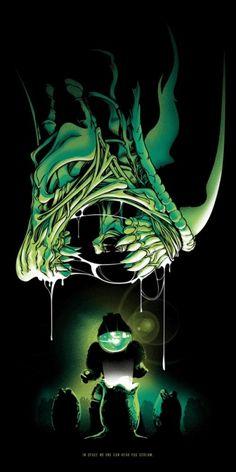 Cool Art: Alien Poster
