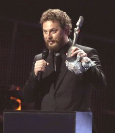 Duncan Jones Accepts BRIT Award for Dad David Bowie: This 'Is for All theKooks'