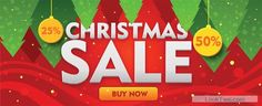 Free Creative 2015 Christmas sale banner design 01  vector download