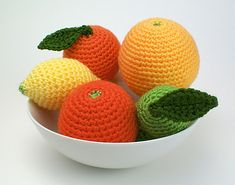 Ravelry: Free Amigurumi Citrus Collection pattern by June Gilbank