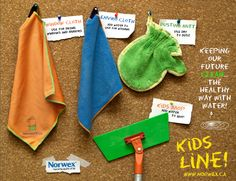 Kids can help with housework with their very own kid-sized Norwex products. Norwex+kids for a better future. www.bonnierunk.norwex.biz