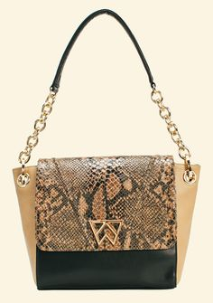 The Kelly Wynne Pop The Champagne Shoulder in Cocoa Black Python -- preorder yours now at >>>WWW.KELLYWYNNE.COM<<<