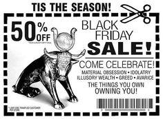 the golden calf of consumerism
