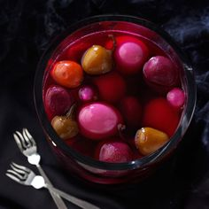 Pickled Eggs with Beets and Hot Cherry Peppers Recipe -Because my grandmother didn't measure anything when she cooked, I had to guess when I decided to duplicate her recipe for pickled eggs. The color becomes more intense the longer they marinate. —Judie Thurstenson, Colcord, OK