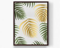 Palm Leaf Pattern Print Save and print this artwork from your home computer or at a local print shop. Change out your prints as often as you