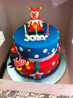 De Jokie taart voor het zoontje van Jennifer van Broekhoven van Lochem.