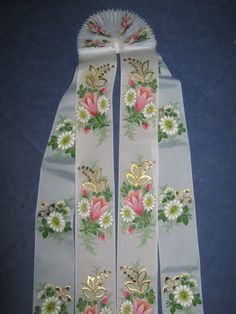 Floral Tie, Fashion, Moda, Fashion Styles, Fashion Illustrations