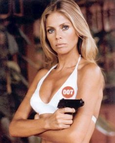 Britt-Marie Ekland (born 6 October 1942) is a Swedish actress and singer, and a long time resident of the United Kingdom. She is best known for her roles as a Bond girl in The Man with the Golden Gun