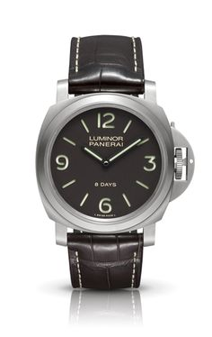 LUMINOR BASE 8 DAYS TITANIO PAM00562 - Kollektion LUMINOR - Uhren Officine Panerai