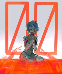 Is the manga different to the anime? Girls Anime, Anime Couples Manga, Cute Anime Couples, Manga Girl, Neon Genesis Evangelion, The End Of Evangelion, Evangelion Tattoo, Evangelion Shinji, Rei Ayanami
