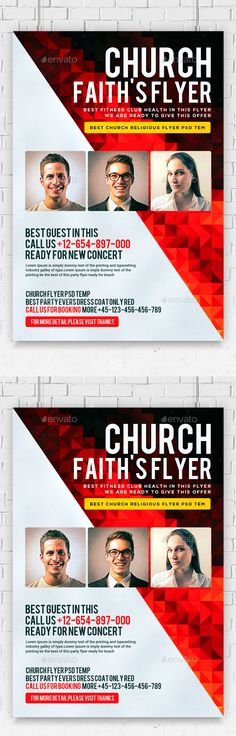 Pastoral Anniversary Flyer Template #flyerthemes | Church Flyer ...