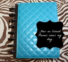 Monday, June 2014 How An Errand Planner Saves My Day Have you ever gone shopping and realized you forgot that coupon that made a differe. Arc Planner, Home Planner, Happy Planner, Planner Ideas, Small Planner, Arc Notebook, Notebook Ideas, Binder Organization, Organizing Tips