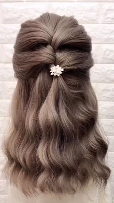 Step By Step Hairstyles, Easy Hairstyles For Long Hair, Diy Hairstyles, Hairstyle Tutorials, Hairstyle Ideas, Hairstyles Medium Length Hair, Hairstyle For Women, Scrunchy Hairstyles, Wedding Hairstyles For Short Hair