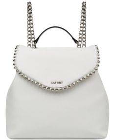 af39ba8789d Nine West Aveline Chain Strap Backpack   Reviews - Handbags   Accessories -  Macy s