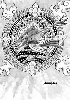Enel (Eneru) One piece Art Tattoo, The Pirate King, Tatto, Luffy, Art, One Piece Manga, Anime, Manga, Cool Drawings