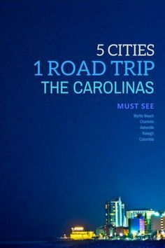 Inspiring Cities To See During A Road Trip Through the Carolinas