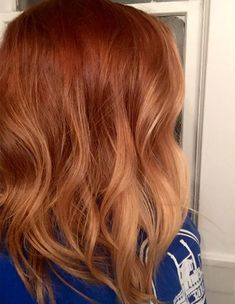 Rusty Copper Color Ideas for Spring 2018 Hairstyles