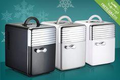 Mini refrigerador e aquecedor trivolt com capacidade de 5 litros, por apenas R$279.90