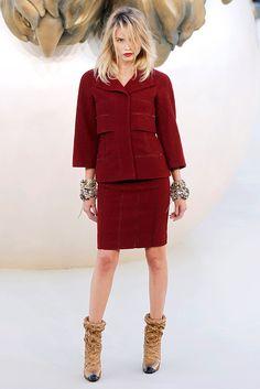 Chanel - Otoño en rojo