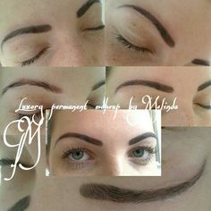 Eyebrows remove by Meli  Luxury permanent makeup  Hungary  www.glamourart.com