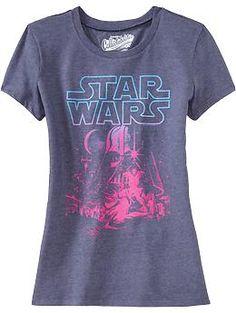 Women's Star Wars™ Tees | Old Navy $15