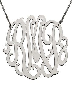 Monogram Necklace - perfect for bridesmaids gifts