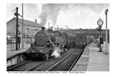 55 & train for Dublin departing. Old Steam Train, Rail Train, Steam Engine, Belfast, Locomotive, Dublin, Trains, Ireland, Irish