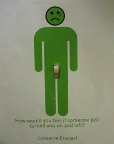 太長開關燈小綠人會害羞。