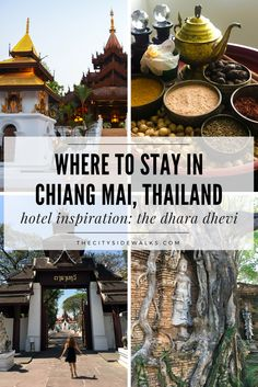 Have you ever felt like you've time traveled into another destination from the past? This luxury hotel in the heart of Chiang Mai will do just that. The Dhara Dhevi is a truly special experience for people looking for something authentic and unique while visiting Chiang Mai. Step into this world of the 13th century Kingdom of Lanna and get ready to be treated like royalty!