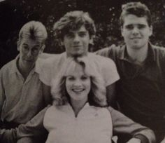 Kirk, Michael, & Andrew visit LA in 1982. Girl is a friend of Tina's.