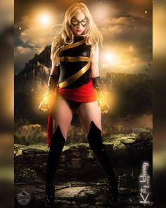 Check out @kittyhoneycosplay as  Ms Marvel  Composite  courtesy of @8bit_fuzion_graphics for booking check out his work  To be featured please follow page! If your photo is already on Instagram please on tag photo  Dm is for first run photo only and please give photographer's information! Clear Selfies Welcome Thx  Follow my friends  Official photographers: @daddypop_culture @cnb_photog  Make your photos into art check out: @gatogordomx @cosplayeditsnstuff  Clothing and Accessories